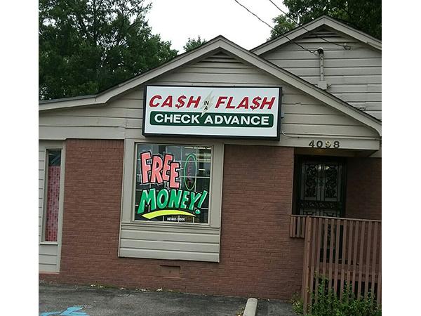 Cash Flash Check Advance in Memphis , TN